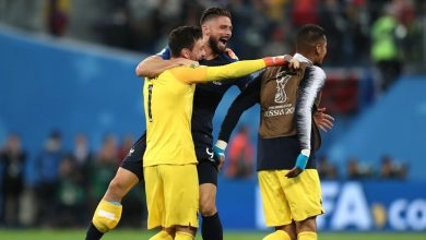 لاعبي فرنسا