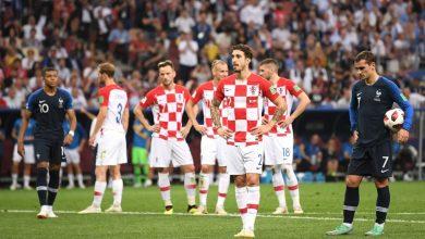 فرنسا و كرواتيا