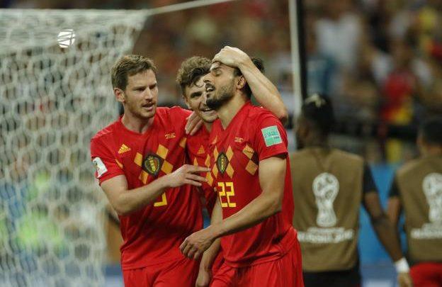 لاعبي بلجيكا