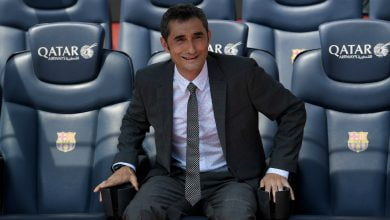 مدرب برشلونة ارنستو فالفيردي