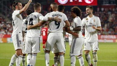 صورة عاجل .. تشكيلة ريال مدريد الرسمية لمباراة ليجانيس
