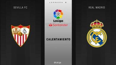 ريال مدريد و اشبيلية