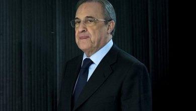 رئيس ريال مدريد فلورنتينو بيريز