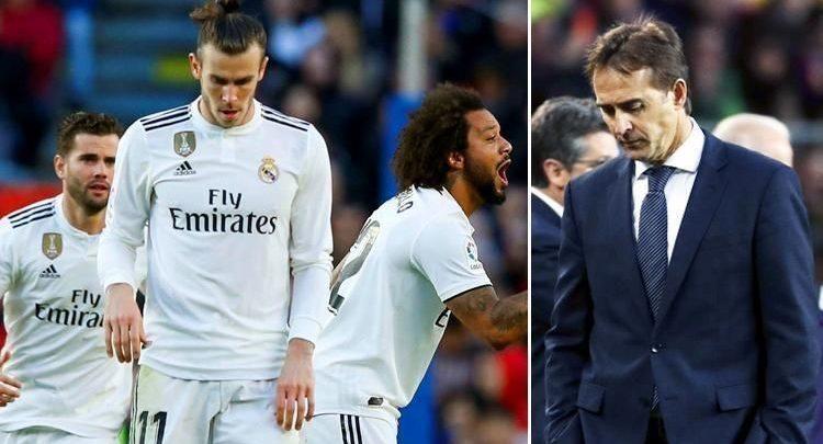 ريال مدريد و المدرب المقال لوبيتيجي