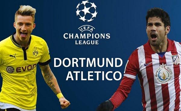 أتلتيكو مدريد ودورتموند