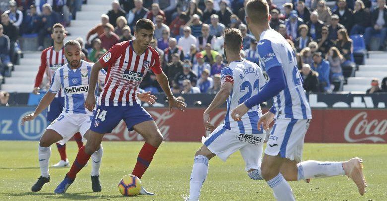 اتلتيكو مدريد و ليجانيس