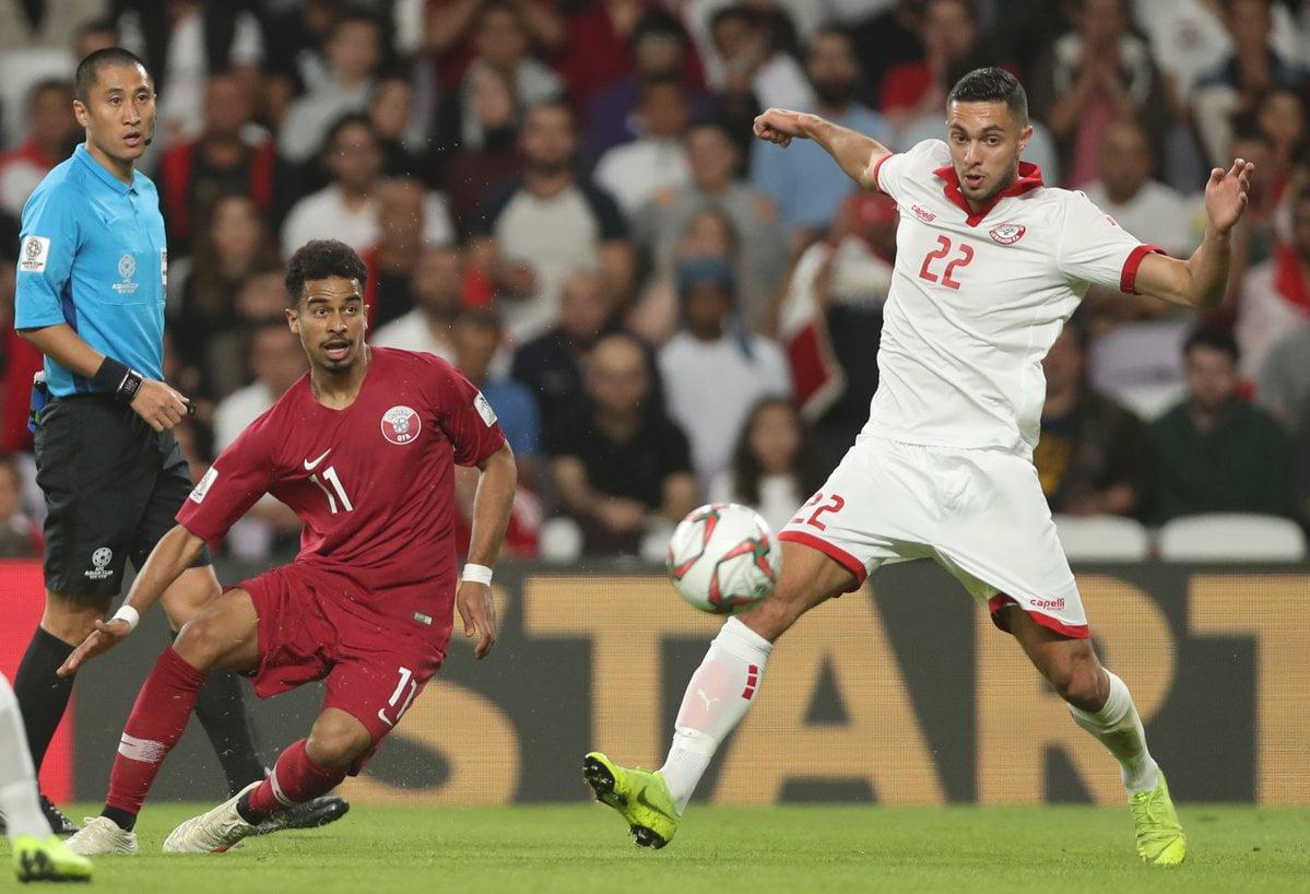 مباراة قطر ولبنان