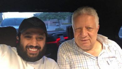 تركي آل الشيخ و مرتضى منصور