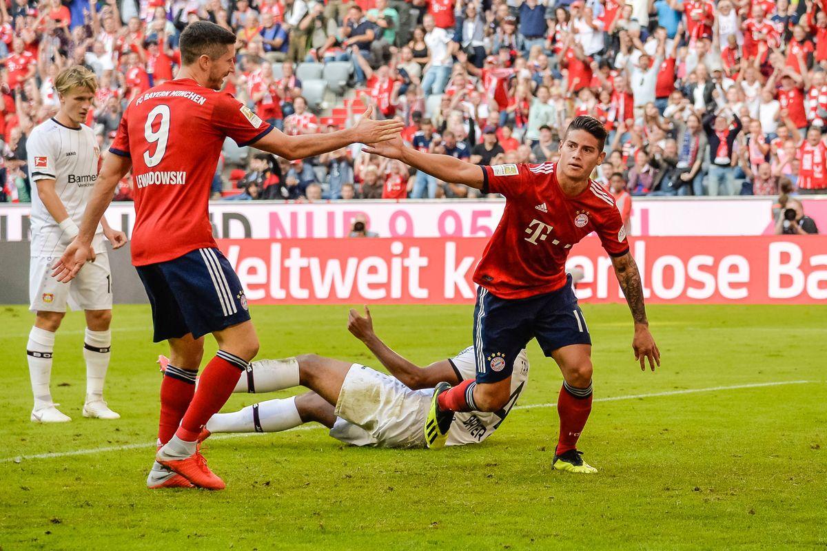 Bayern Vs Leverkusen 2020