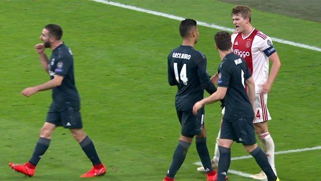 دي ليخت ضد ريال مدريد