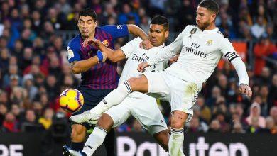 كلاسيكو برشلونة و ريال مدريد