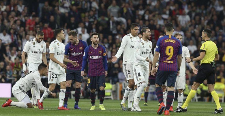 صورة آخر أخبار برشلونة وريال مدريد اليوم السبت