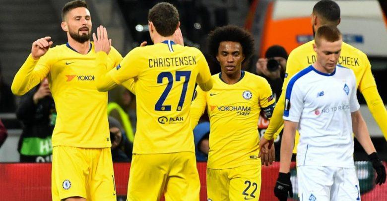Photo of تشيلسي يكتسح دينامو كييف بخماسية ويتأهل لربع نهائي الدوري الأوروبي