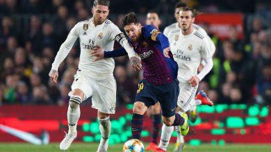 ميسي ضد ريال مدريد