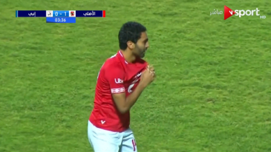 أهداف الأهلي وانبي (2-0) الدوري المصري
