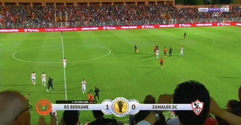 Photo of هدف فوز نهضة بركان على الزمالك (1-0) الكونفدرالية الأفريقية
