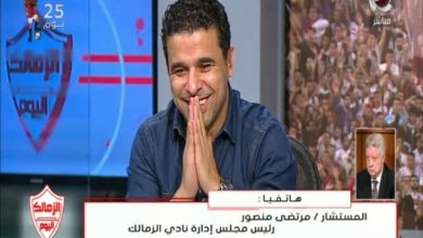 Photo of هجوم مرتضى منصور على أحمد شوبير بعد نهائي الكونفدراليه