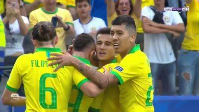 اهداف البرازيل وبيرو