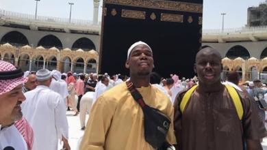 صورة بول بوجبا يهنئ الأمة الإسلامية بعيد الفطر المبارك