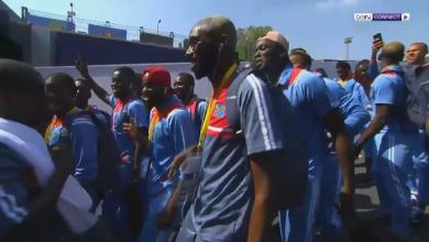 لاعبي الكونغو