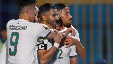 التشكيل الرسمي  قمة الجزائر والسنغال بالقوة الضاربة