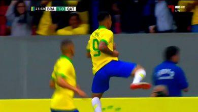 هدف البرازيل الثاني