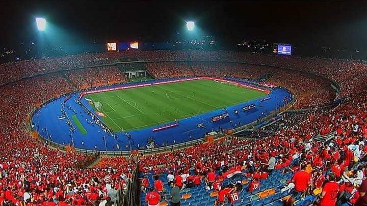 صورة الجماهير تملئ استاد القاهرة قبل مباراة مصر وأوغندا