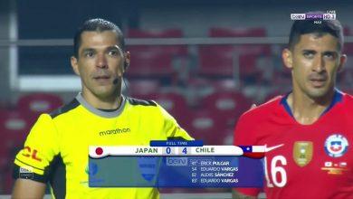 صورة أهداف مباراة تشيلي واليابان (4-0) كوبا أمريكا بتعليق رؤوف خليف