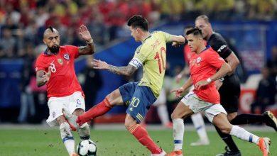 تشيلي إلى نصف نهائي كوبا أمريكا بفوز مثير على كولومبيا