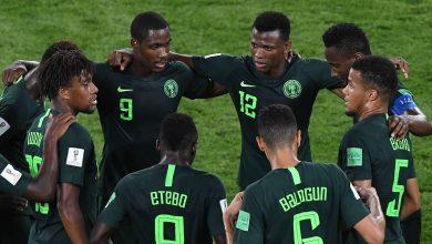 صورة توقف قلب لاعب نيجيريا قبل انطلاق أمم إفريقيا