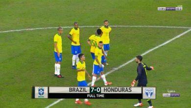 اهداف مباراة البرازيل 7-0 هندوراس