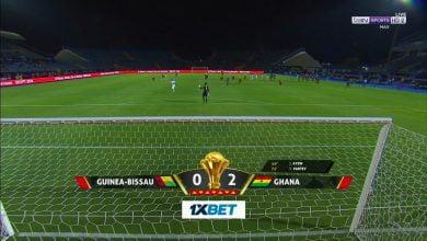 اهداف غانا وغينيا