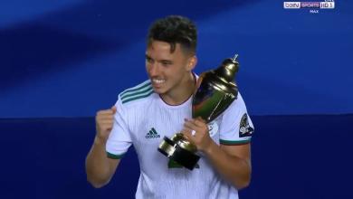 صورة رسميًا.. إسماعيل بن ناصر أفضل لاعب في كأس أمم إفريقيا 2019