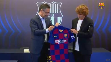 Photo of رسميًا.. الكشف عن رقم جريزمان مع برشلونة