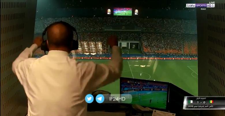 صورة خلف الكواليس.. رد فعل حفيظ دراجي على هدف فوز الجزائر أمام السنغال