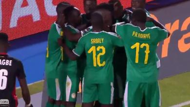 هدف السنغال
