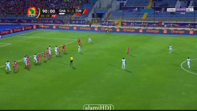 Photo of هدف تعادل غانا أمام تونس في الوقت القاتل ورد فعل الشوالي
