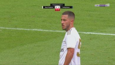 صورة ملخص لمسات ادين هازارد أمام توتنهام.. مباراة ودية