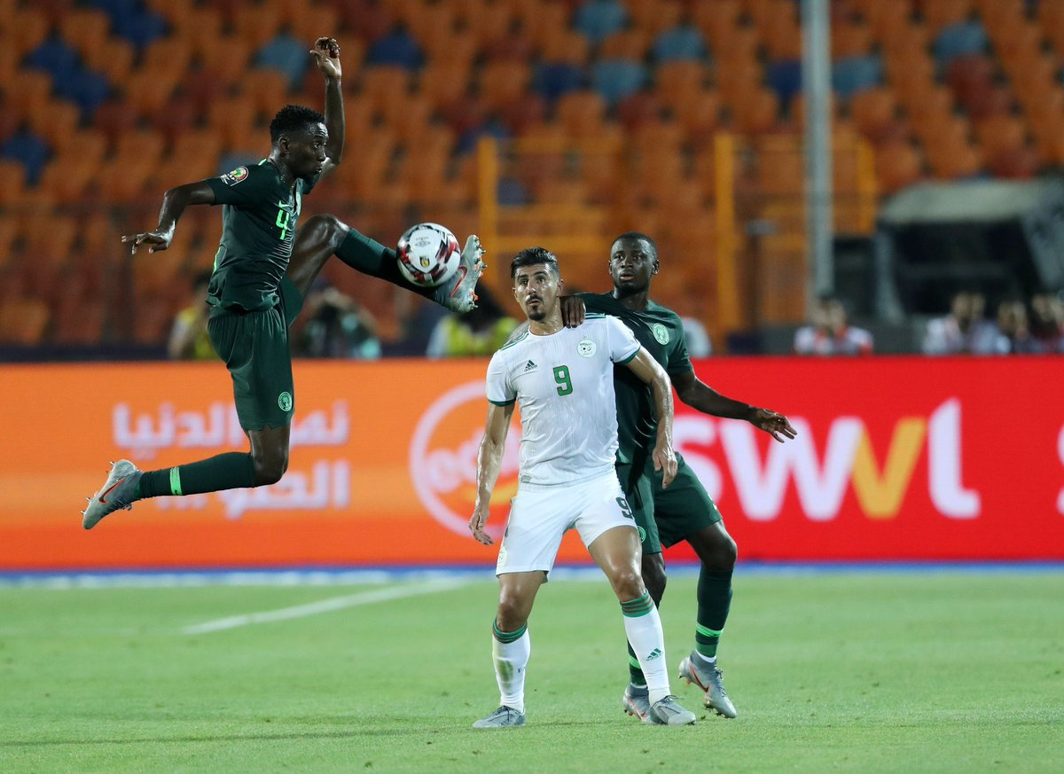 الجزائر و نيجيريا