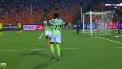 هدف نيجيريا الاول في مرمى جنوب إفريقيا .. كأس أمم أفريقيا
