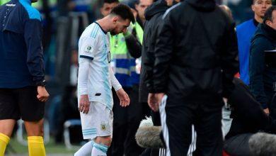 صورة ثنائي تشيلي يعترف: ميسي لم يستحق الطرد