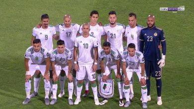 اهداف الجزائر وغينيا