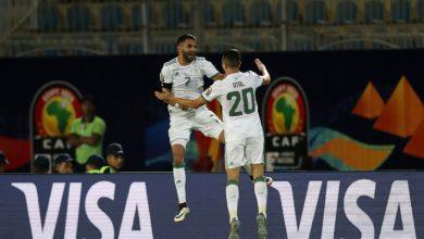محرز أفضل لاعب في مباراة الجزائر وغينيا