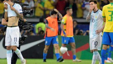 ميسي أمام البرازيل