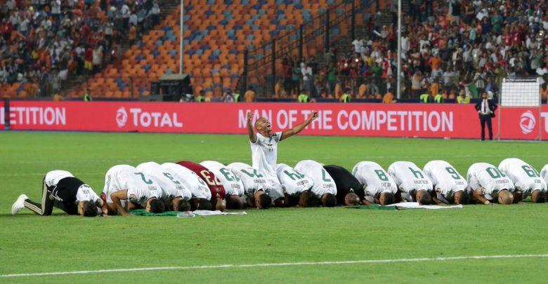 صورة شاهد للنهاية .. هكذا نالت الجزائر النجمة الثانية لها في بطولة أمم أفريقيا