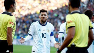 صورة تعرف على مباريات الأرجنتين التي يغيب عنها ميسي بعد إيقافه