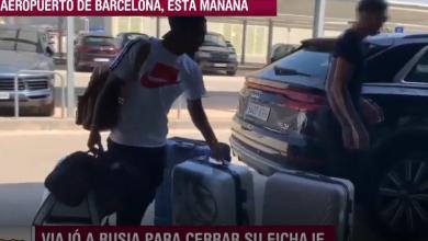 Photo of نجم برشلونة يحمل حقائبه لمغادرة الفريق نهائيا