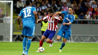 التشكيل الرسمي لموقعة يوفنتوس وأتلتيكو مدريد