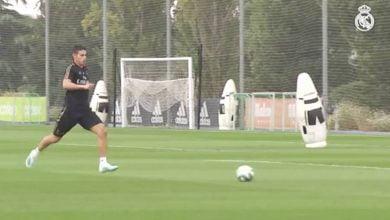 Photo of خاميس رودريجيز يتألق ويسجل هدف رائع في تدريبات ريال مدريد