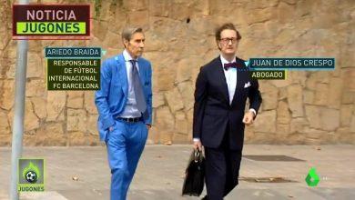 لحظة وصول محامي نيمار لبرشلونة